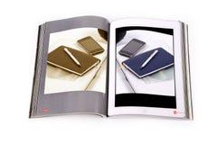 Принципиальная схема Ebook Стоковые Изображения RF