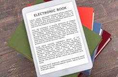 Принципиальная схема Ebook Стоковое Фото