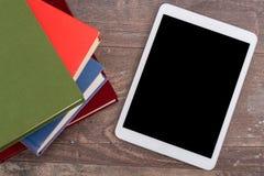 Принципиальная схема Ebook Стоковое Изображение