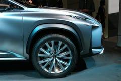 Принципиальная схема SUV Lexus LF-NX Стоковое фото RF