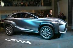 Принципиальная схема SUV Lexus LF-NX Стоковое Изображение RF