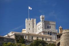 Принцы Дворец Монако в Монте-Карло, Cote d'Azur Стоковые Фото