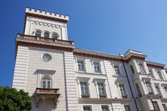 Принцы Замок Sulkowski в Bielsko-Biala Польше стоковое фото
