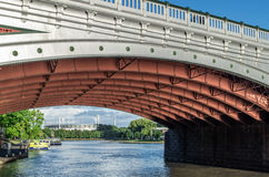 Принцы Мост в Мельбурне стоковая фотография rf
