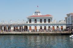 Принцы Остров порта Buyukada стоковые фото