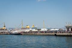Принцы Остров порта Buyukada стоковое изображение rf