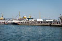 Принцы Остров порта Buyukada стоковые фотографии rf
