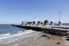 Принцы Пристань в порте Мельбурне стоковое изображение
