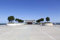 Принцы Пристань в порте Мельбурне стоковое изображение rf