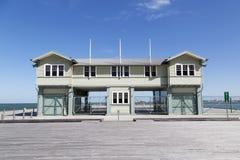 Принцы Пристань в порте Мельбурне стоковые фотографии rf