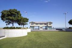 Принцы Пристань в порте Мельбурне стоковая фотография