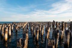 Принцы Пристань - Мельбурн стоковые изображения rf