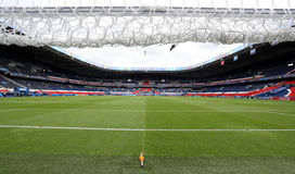 Принцы des Parc стадиона, Париж Стоковые Фотографии RF