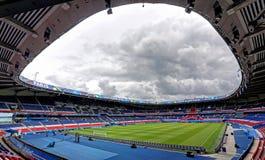 Принцы des Parc стадиона, Париж Стоковые Изображения