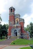принцы Svyatopolk-Mirsky Церков-усыпальницы в Беларуси Стоковое Фото