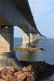 принц острова edward конфедерации моста к Стоковые Фотографии RF