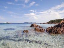 принц Сардиния Италии пляжа Стоковое Изображение RF