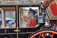Принц Филипп, HM ферзь Элизабет Стоковые Изображения