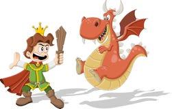 Принц шаржа иллюстрация штока