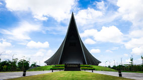 Принц Mahidol Hall Грандиозная зала как правильное место для ceremon градации Стоковое Изображение RF
