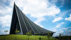 Принц Mahidol Hall Грандиозная зала как правильное место для ceremon градации Стоковое Изображение