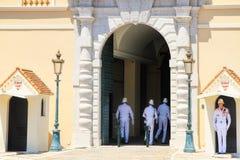 принц s дворца Монако Стоковые Изображения