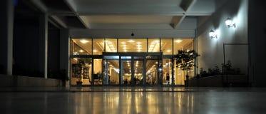 принятая гостиница входа сумрака Стоковая Фотография RF