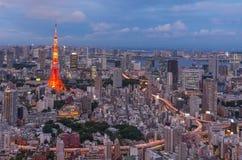 2011 принятая летом башня токио Стоковые Изображения RF