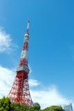 2011 принятая летом башня токио Стоковое Изображение