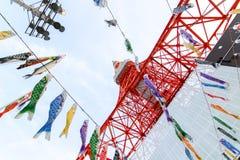 2011 принятая летом башня токио Стоковые Фотографии RF