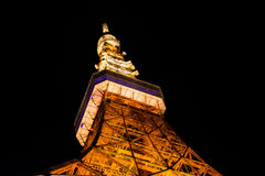 2011 принятая летом башня токио Стоковое фото RF