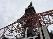 2011 принятая летом башня токио стоковые фото