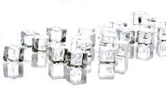 принятая полка изображения льда кристаллов Антарктики Стоковое фото RF
