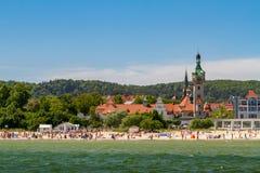 17 принятое sopot Польши фото маяка 2012 -го в июне старое Стоковые Фотографии RF