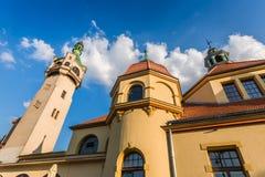 17 принятое sopot Польши фото маяка 2012 -го в июне старое Стоковая Фотография