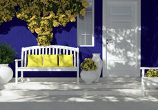 принятый фотоснимок lima Перу дома входа был Стоковое Фото