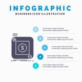 приобретение, магазин, приложение, применение, мобильный шаблон Infographics для вебсайта и представление r бесплатная иллюстрация