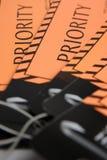 приоритет vip пассажиров ярлыка багажа Стоковое Изображение RF