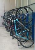 припаркованные велосипеды Стоковая Фотография RF