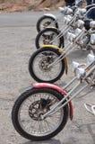 Припаркованные колеса тяпки стоковые изображения