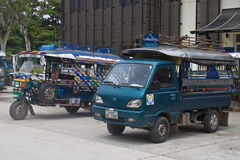 Припаркованные tuks tuk Стоковая Фотография RF