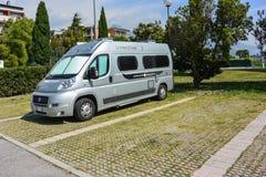 Припаркованный турист Стоковая Фотография RF