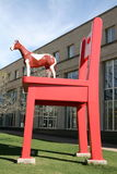 припаркуйте скульптуру Стоковое Изображение RF