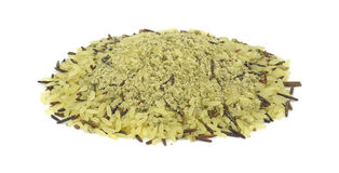 приправы риса зерна длинние одичалые Стоковое Фото