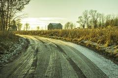 Припудривание снега Стоковые Изображения RF