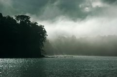 природа апокалипсиса драматическая Стоковая Фотография