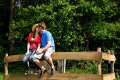 природа влюбленности пар Стоковые Фотографии RF