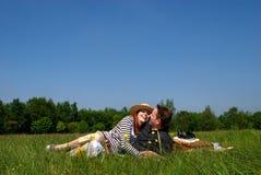 природа влюбленности пар Стоковые Фото