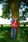 природа влюбленности пар Стоковые Изображения RF