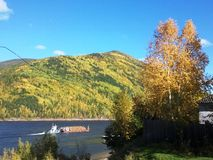 Природа в области Иркутска стоковые фотографии rf
